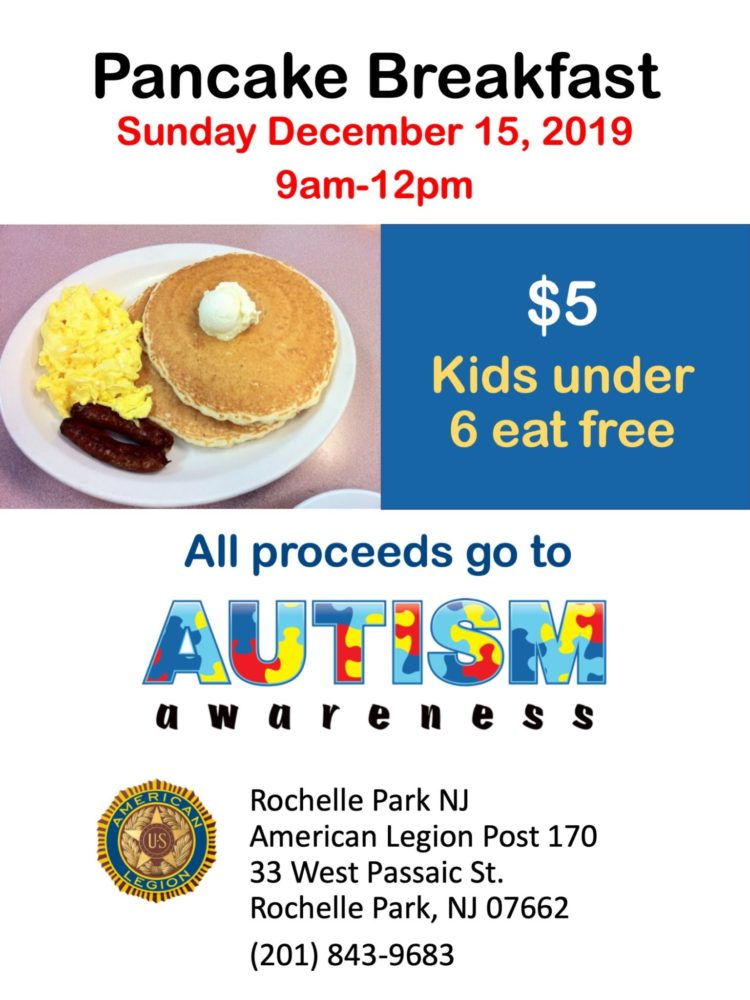 pancake breakfast for autism
