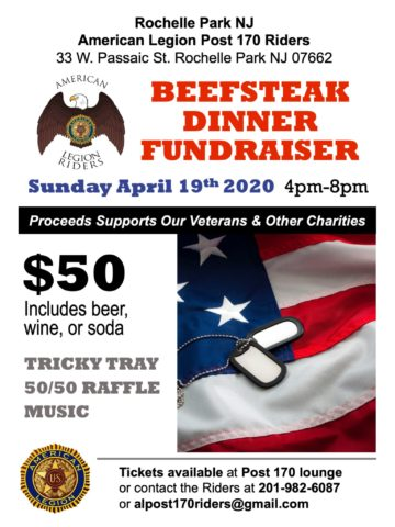 American Legion Post 170 Riders beefsteak