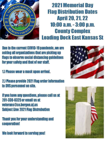 Memorial Day Flag Distribution