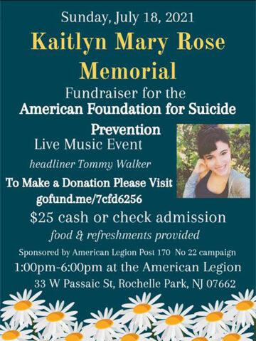 July 18 Fundraiser