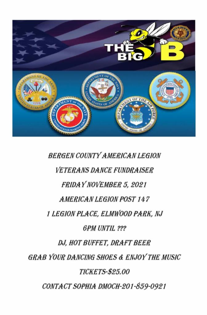 BCAL Veterans Dance Fundraiser